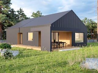 Modern houses by 4Q DEKTON Pracownia Architektoniczna Modern