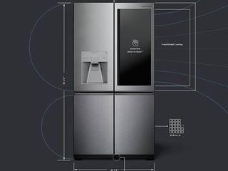 LG SIGNATURE CocinaElectrónica Metal Metálico/Plateado