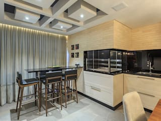 PANORAMA Arquitetura & Interiores Eclectic style dining room