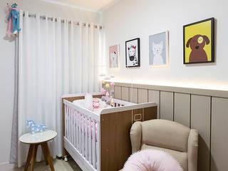 Apartamento moderno e colorido Quarto infantil eclético por PANORAMA Arquitetura & Interiores Eclético