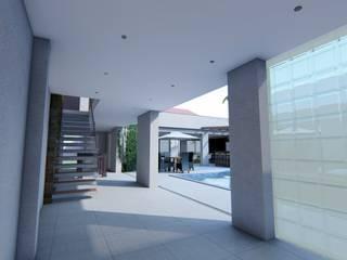 casa unifamiliar: Casas  por DE Arquitetura e Decoração,Moderno