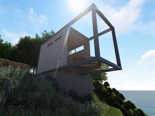 casa pontal: Casas  por DE Arquitetura e Decoração,Minimalista