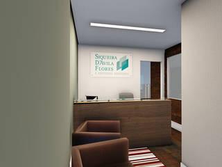 escritorio: Escritórios  por DE Arquitetura e Decoração,Clássico