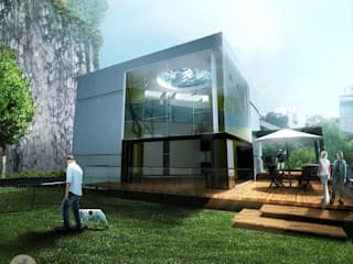 Modern houses by All Arquitectura Modern