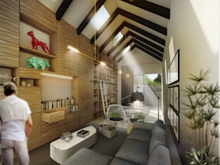 Living room by TaAG Arquitectura, Modern