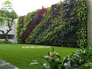 Vertical Garden Surabaya Alam Asri Landscape Kolam taman Besi/Baja Green