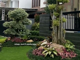 Tukang Taman Surabaya, Sidoarjo, Gesik :  Halaman depan by Tukang Taman Surabaya - Alam Asri Landscape