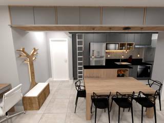 وحدات مطبخ تنفيذ Fareed Arquitetos Associados
