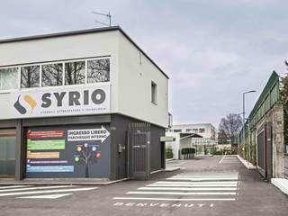SYRIO S.R.L. EDIFICIO COMMERCIALE IN BERGAMO (2017) Spazi commerciali moderni di ROTAworkshop di Silvia Rota Moderno