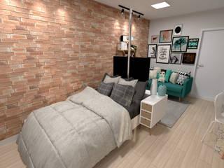 Bedroom by Fareed Arquitetos Associados