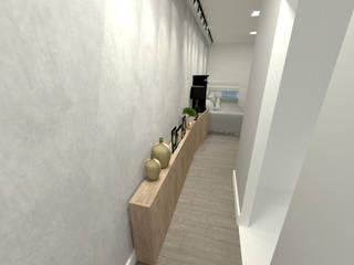 Pasillos y vestíbulos de estilo  por Fareed Arquitetos Associados
