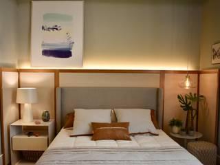 Dormitorios de estilo  de Carla Pagotto Arquitetura e Design Interiores,