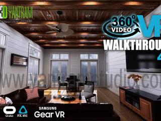 360 Degree 3D Walkthrough Animation By Yantram Development- New jersey, USA Klasik Bar & Kulüpler Yantram Architectural Design Studio Klasik