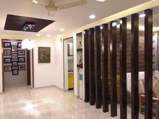 Interiors:  Corridor & hallway by M.U Interiors,