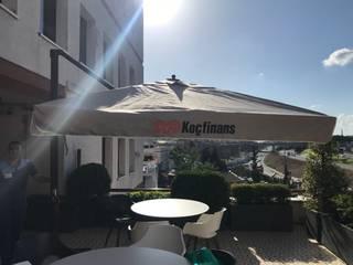 Akaydın şemsiye Modern Terrace Aluminium/Zinc Beige