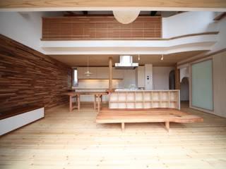 LDK: 株式会社高野設計工房が手掛けたリビングです。