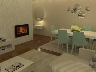Dining room by Casactiva Interiores