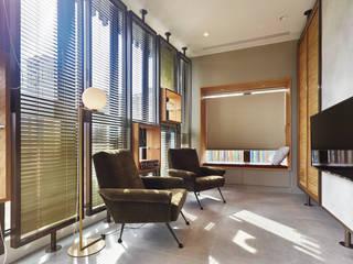 Modern media room by 形構設計 Morpho-Design Modern