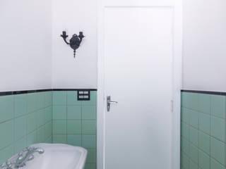 INÁ Arquitetura Baños de estilo moderno Azulejos Verde
