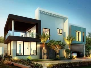 Klasyczne domy od B Design Studio Klasyczny