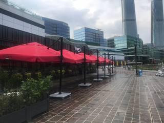 Akaydın şemsiye – brasserie POLENEZ ŞEMSİYESİ:  tarz Ön avlu,