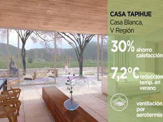 Casa Tapihue Pasiva Casas estilo moderno: ideas, arquitectura e imágenes