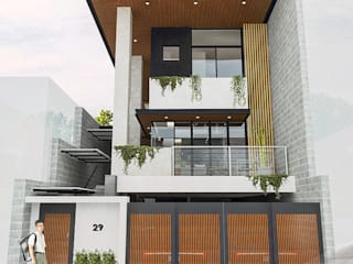 Rumah tinggal  oleh Structura Architects, Modern