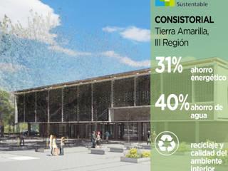 Edificio Consistorial Tierra Amarilla Pasiva Casas ecológicas