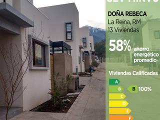 Calificación Energética Viviendas, condominio Doña Rebeca Pasiva Casas ecológicas