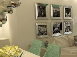 : Salas de estar modernas por Casactiva Interiores