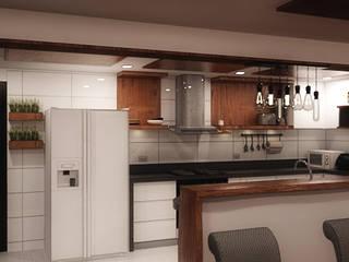 Dapur built in oleh Plano 13