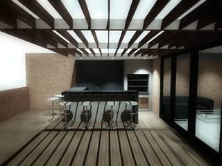 Terrasse von Plano 13,