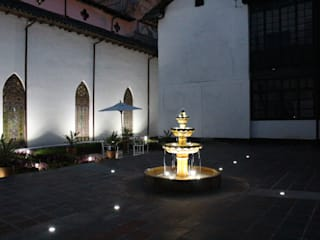 Vườn ao theo Omar Interior Designer  Empresa de  Diseño Interior, remodelacion, Cocinas integrales, Decoración, Thực dân