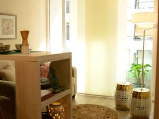 Estilo Japones en Santiago : Livings de estilo  por Kaa Interior | Arquitectura de Interior | Santiago,