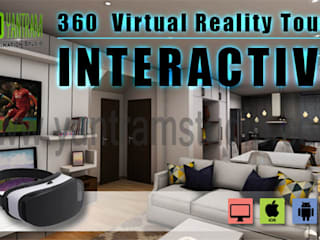 Interactive Interior App By Yantram virtual reality studio- Vancouver, Canada Klasik Bar & Kulüpler Yantram Architectural Design Studio Klasik