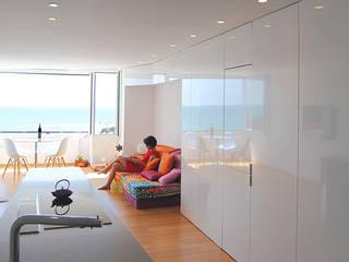 Espacio diáfano : Casas ecológicas de estilo  de Loft 26