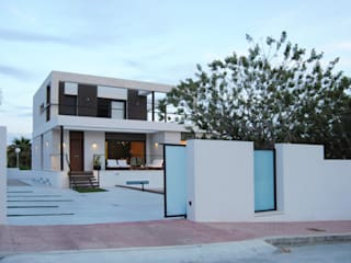 Reforma y ampliación vivienda unifamiliar: Casas unifamilares de estilo  de Loft 26