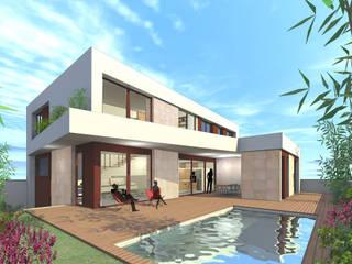 Diseño fachadas:  de estilo  de Loft 26