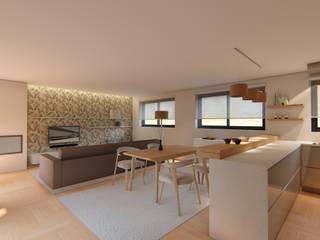by 7eva design - Arquitectura e Interiores Скандинавський