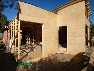 Casa Madera Minimalista 50m2: Casas de estilo  por Incove - Casas de madera minimalistas