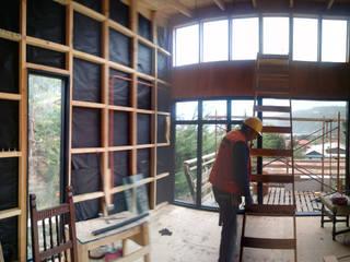 Casa Madera Minimalista 50m2: Casas de estilo  por Incove Ingeniería y Construcción
