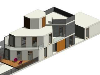 casa TECAMAC Casas minimalistas de Designo Arquitectos Minimalista