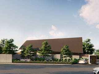 kawasan hunian wisma mandiri & warehouse center:   by MODULA