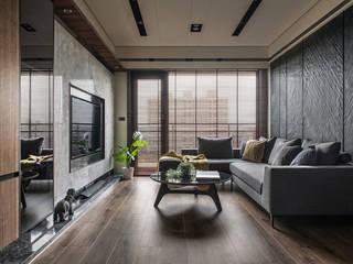 Wohnzimmer von 齊家。空間設計, Modern
