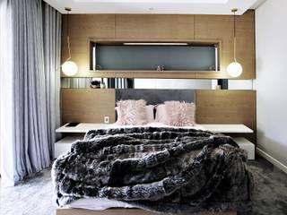 Teenage Bedroom Design JSD Interiors Modern style bedroom Wood Pink