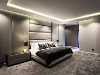 Main Bedroom Design:  Bedroom by JSD Interiors