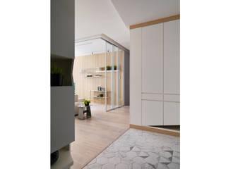 Gary Star 斯堪的納維亞風格的走廊,走廊和樓梯 根據 寓子設計 北歐風
