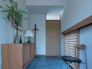 西大寺の家 北欧スタイルの 玄関&廊下&階段 の アークス建築デザイン事務所 北欧