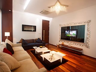 Living room Layout ideas:  Living room by Innerspace