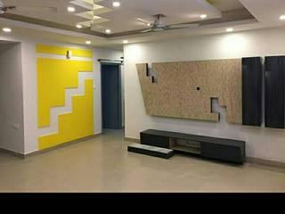 Kitchen and interiors:  Corridor & hallway by Aqua homes